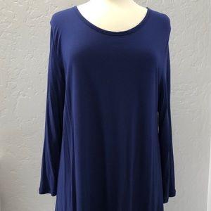 Gap long sleeve knit tunic